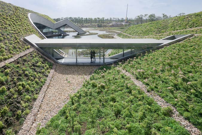 A Blend between building and nature | URBALIZE